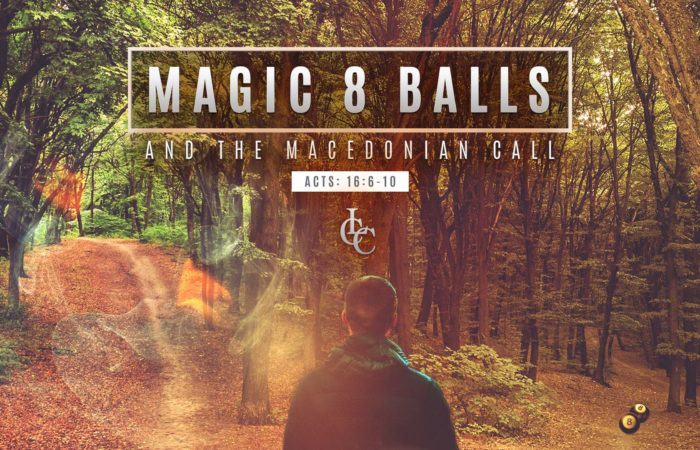 Magic 8 Balls and the Macedonian Call - 9/8/19
